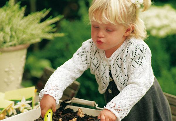 Natuurlijk spelen in de tuin