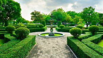Basisvormen voor een tuinontwerp, ordenend