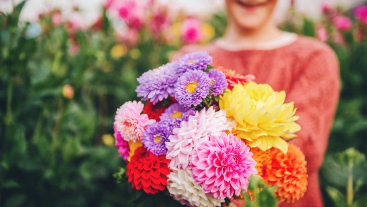 Zomerfeestje met bloemen