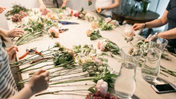Tips voor bloemschikken