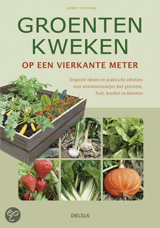 Boek groente kweken op een vierkante meter