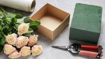 DIY Romantisch cadeaudoosje met rozen