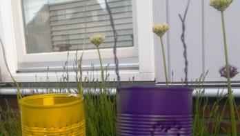 DIY tuinlantaarn