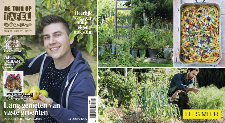 De Tuin op Tafel magazine