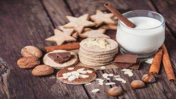 Recept kaneelkoekjes met chocolade en amandel