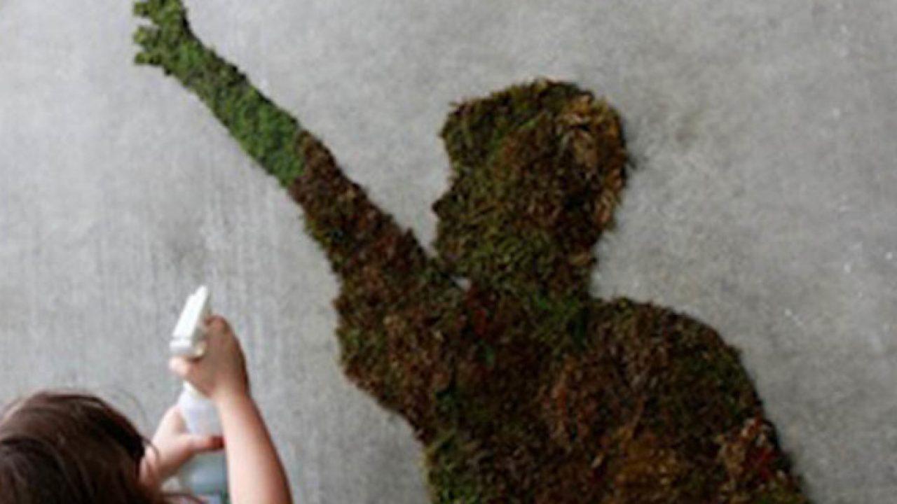Hedendaags Zelf mos graffiti maken - Tuinen MV-79