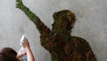 Zelf mos graffiti maken