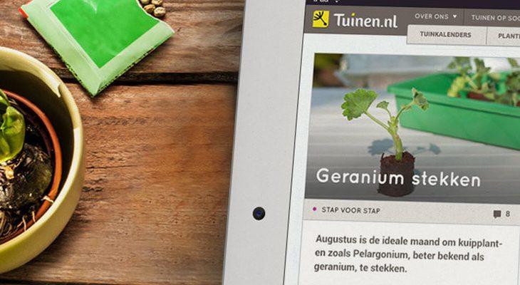 Aanmelden Tuinen.nl testpanel