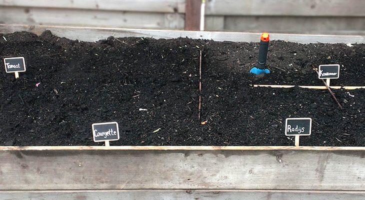 diy zelf moestuinbak maken - tuinen