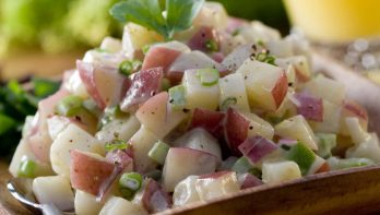 Recept lentefrisse aardappelsalade