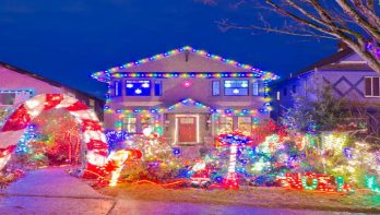 5x extreem versierde kersttuinen