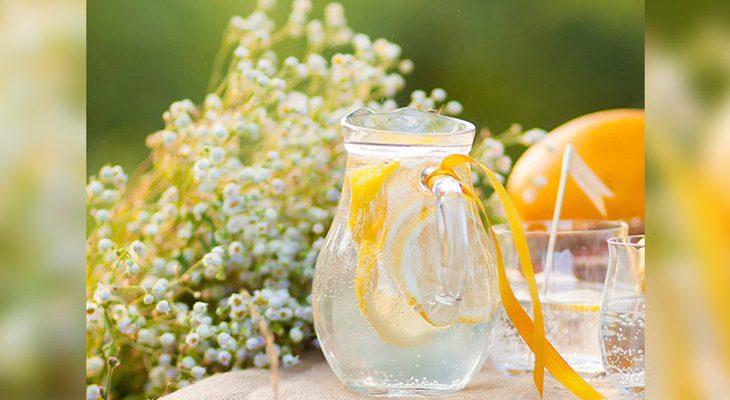 Recept dorstlessend citroenwater