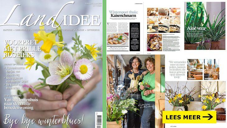 Winnaar jaarabonnement op het magazine LandIdee