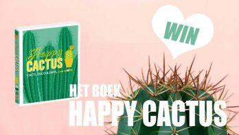 Win het boek Happy Cactus