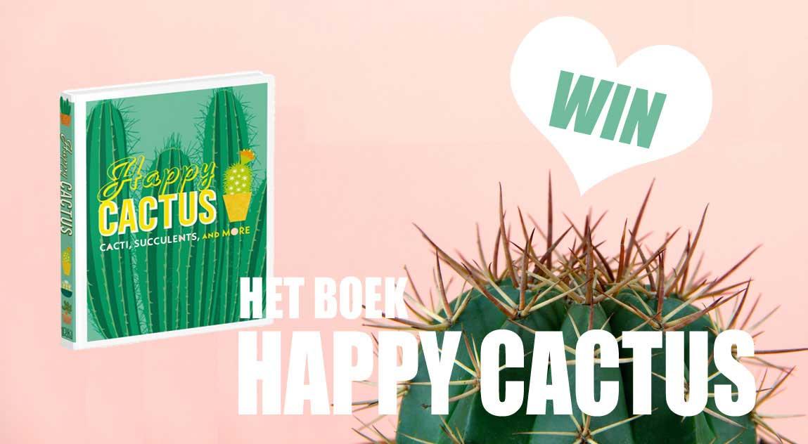 winactie, boek, happy cactus, win, tuinen.nl