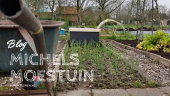 Tijd om lekker in de tuin te werken - Michels Moestuin