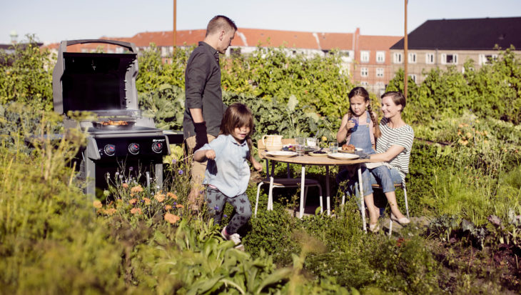 Neem tijd om te genieten in de tuin