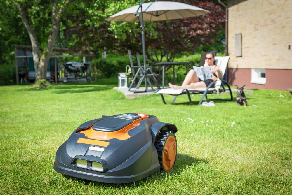 zomertips, robot maaier, gras maaien, tuinen.nl