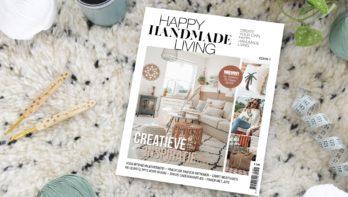 Nieuw magazine: Happy Handmade Living