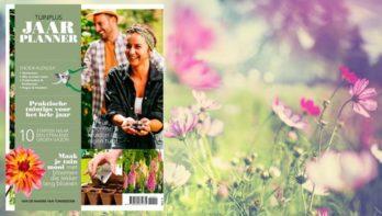 Het hele jaar plezier in de tuin met de TuinPlus Jaarplanner