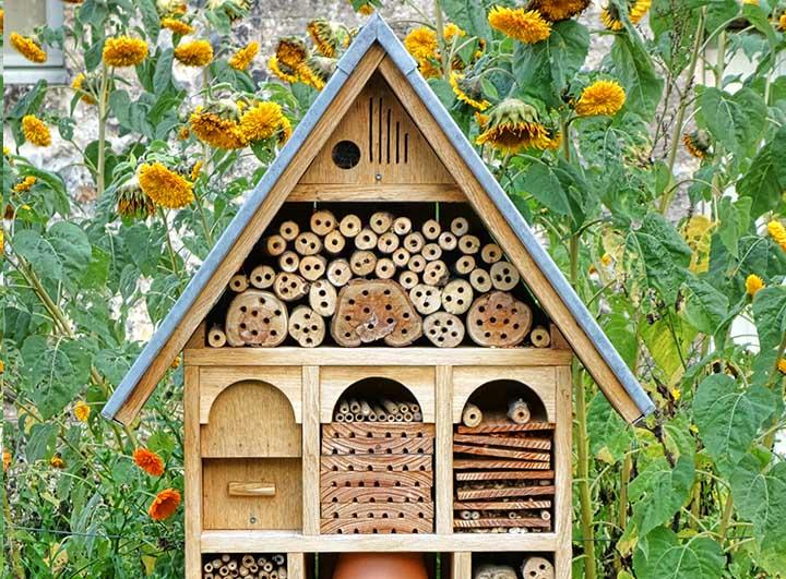 DIY insectenhotel zelf maken
