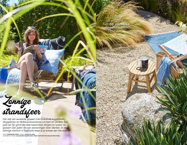 Vakantiesfeer in eigen tuin - Tuinen.nl magazine