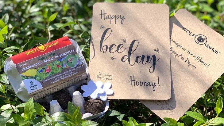 Wereld Bijendag 2020: zet de bloemetjes buiten met dit Happy Bee Day pakket!